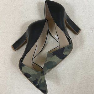 Mix No.6 Larue Pointed Toe Camouflage Pump Size 6.5